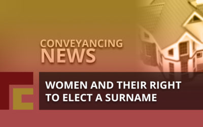 Women and their right to elect a surname
